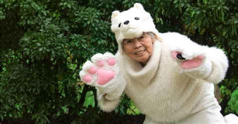 The 90-Year-Old Japanese Grandma Who Takes Funny Pictures
